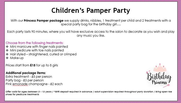 Kids Pamper Package